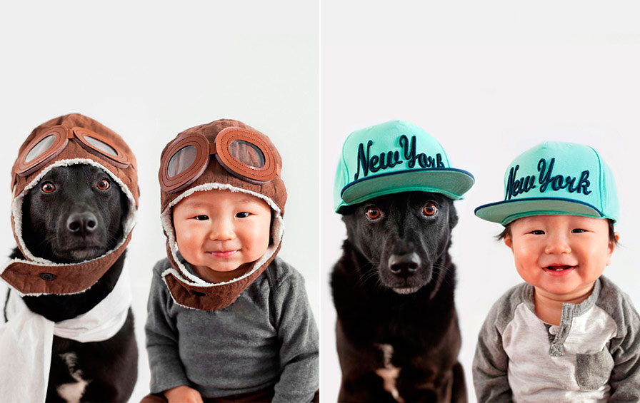 bebe-e-cão