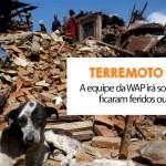 WAP socorre animais atingidos pelo terremoto no Nepal